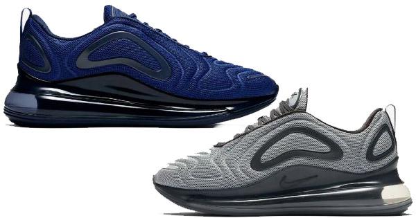 Nike Air Max 720 (in grau oder blau) für 91,18€ (statt 142€)