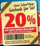 Möbelhaus Roller: 20% Rabatt auf einen Artikel Deiner Wahl!