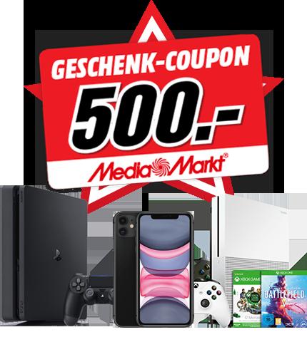 500 Euro MediaMarkt Gutschein gewinnen!