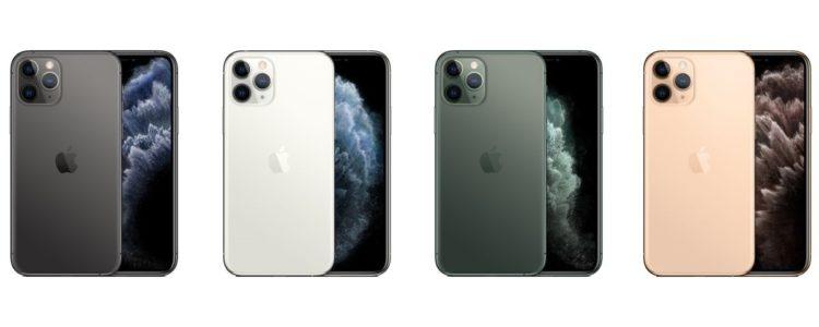 iPhone 11 Pro Farben