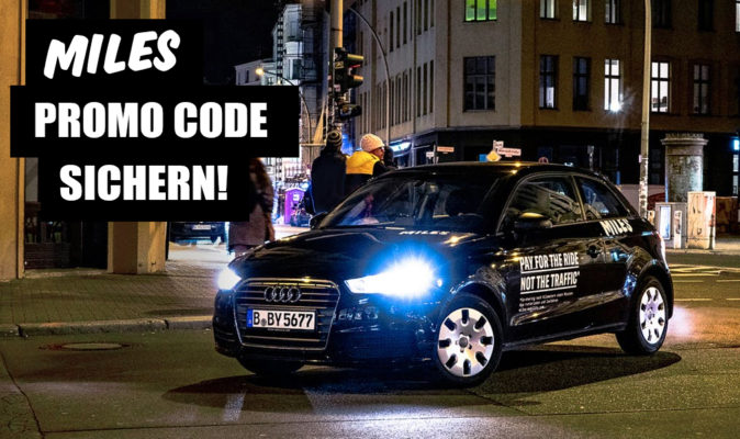 Miles Carsharing Promo Code sichern