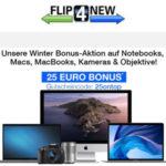 Flip4New: 25€ on-top für eure alten Notebooks, Macs und Kameras