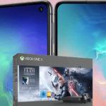 *147€ Ersparnis + Telekom-Tarif eff. kostenlos* Galaxy S10e + Xbox One X Star Wars + 6GB LTE für mtl. 26,99€ (viele weitere Bundles im Deal!)