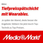 MediaMarkt Wearables-Deals, z.B. Garmin Forerunner 35 für 88€ (statt 110€)