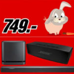 Bose Soundbar 500 + Bass Module 500 Multiroom + SoundLink Mini II für 749€ (statt 891€)