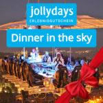 Adventskalender 2019 - Türchen 11: Zwei Freikarten für Dinner in the Sky gewinnen