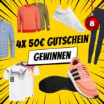 Adventskalender 2019 - Türchen 8: 4 x 50€ Gutschein für SportSpar gewinnen