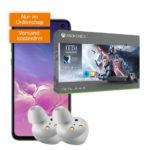 Telekom-Knaller: Galaxy S10 / S10e + Xbox One X Star Wards Jedi + GRATIS Galaxy Buds + 6GB LTE Allnet-Flat ab 21,99€/Monat - Gesamtkosten 297€ unter Gerätewert