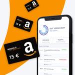 CLARK: Unbegrenzt Amazon.de Gutscheine* für eure Versicherungen