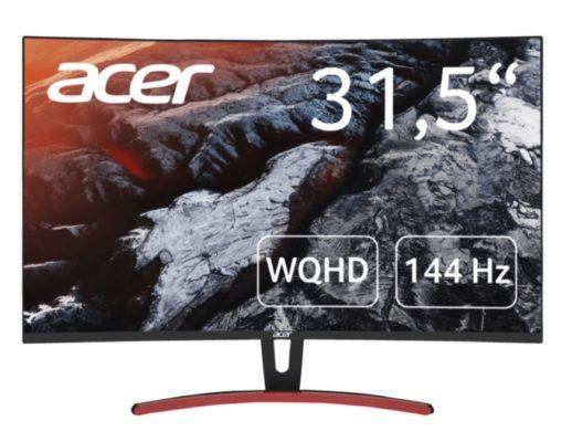 ACER ED323QURA 32 Zoll WQHD Monitor 4 ms Reaktionszeit FreeSync 144 Hz