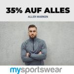 👕👟 mysportswear: 35% Rabatt auf ALLES + versandkostenfreie Lieferung