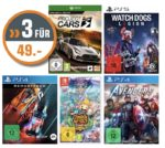 Saturn: 3 Games für 49€ - PlayStation, XBox & Switch