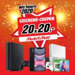 Gewinnspiel: 20 x 20€ MediaMarkt Gutschein gewinnen