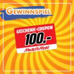 Instagram Gewinnspiel: 100€ MediaMarkt-Gutschein gewinnen