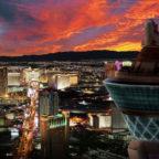 Las-Vegas-Hotelausblick