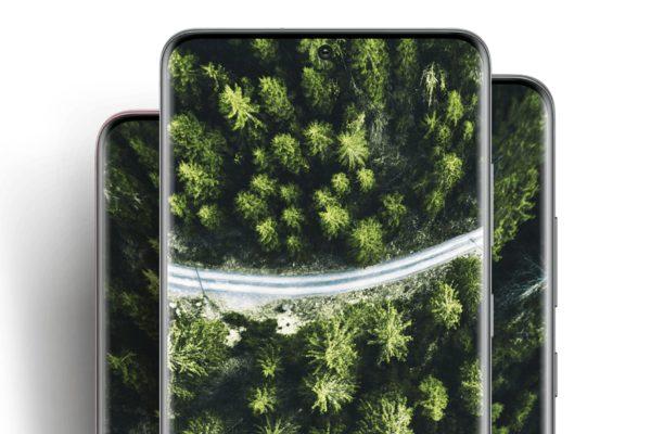 Samsung Galaxy S20 S20 und S20 Ultra 5G Display
