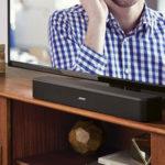Bose-Soundbar-und-TV