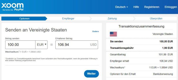 Xoom_Geld_senden_USD