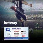 *5€ Gewinn* ⚽️ Betway: 25€ einsetzen + 30€ BestChoice-Gutschein kassieren! (Neukunden)
