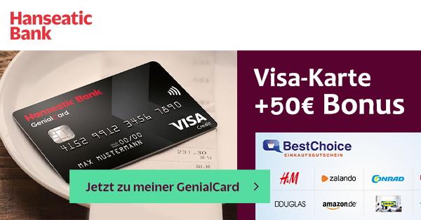 Hanseatic 50€ Bonus