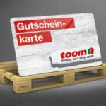 toom: 20€ Gutschein für Einkauf je 100€ - nur am 01.10.2020 (on- und offline)