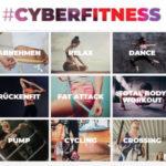 cyberfitness Gutschein: Gratis Online-Fitnessclub lebenslang / 12 Monate
