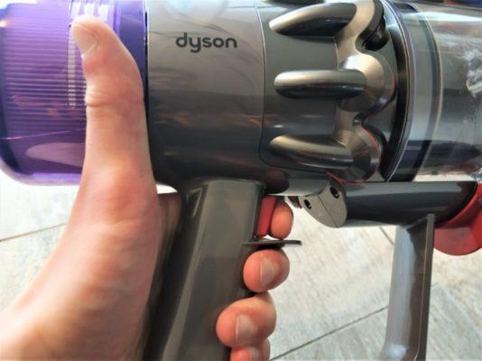 Dyson V11 Absolute Akkustaubsauger Ausloeser