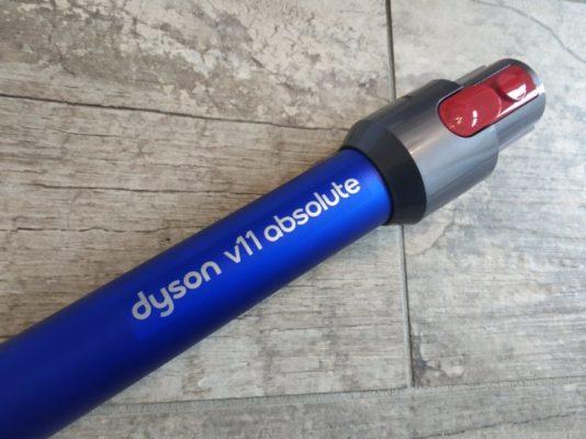 Dyson V11 Absolute Akkustaubsauger Saugrohr Logo