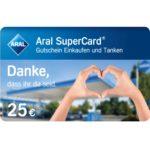 GRATIS: 25€ Aral SuperCard (Tankkarte + Bistro) für Reinigungskräfte in Krankenhaus & Pflegeheim *max. 10.000x*