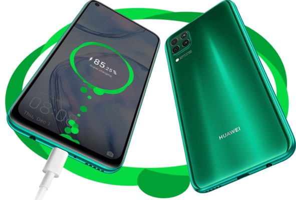 Huawei_p40-lite-Akku_Laden
