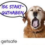 *GRATIS* 3 Monate Hundehaftpflichtversicherung dank 15€ Startguthaben (täglich kündbar)