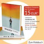 Pixelnet Hardcover Fotobuch mit bis zu 76 Seiten für 15€ + 3,99€ Versand