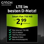 📲🤑 Telekom-Netz: 100 Min. + 750MB LTE für 2,99€/Monat + 0,00€ AG - nur bis Montag (eSIM, VoLTE, WiFi Call möglich)