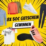 Gewinnspiel: 8x 50€ SportSpar-Gutschein gewinnen