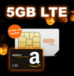 Otelo 5GB LTE Allnet-Flat für 7,99€/Monat + 30€ Amazon-Gutschein + 50€ Rufnummer-Bonus (Vodafone-Netz) *gilt noch*