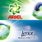Gratis testen: 100% Cashback auf Lenor und Ariel Waschmittel