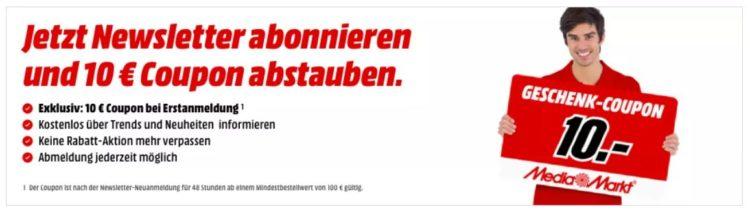 Gutschein Mediamarkt Online