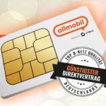 🔥 5GB LTE Allnet-Flat im Vodafone-Netz für 7,99€/Monat (eff. 5,77€/Monat dank 30€ Amazon-Gutschein + 50€ Rufnummer-Bonus!) - allmobil powered by otelo