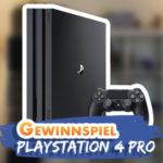Gewinnspiel: PlayStation 4 Pro (1TB) gewinnen