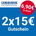 🦷 Bis zu 30€ Amazon.de Gutschein* für sehr günstige DA direkt Zahnzusatzversicherung