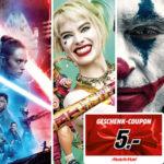 *Wieder da!* Star Wars Ep. 9, Joker, Birds of Prey, Die Känguru Chroniken uvm. mit eff. Gewinn von 4€ schauen! (dank 5€ MediaMarkt Coupon) - freenet Video