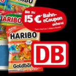 Bis zu 15€ Bahn eCoupon mit Haribo Gummibärchen & Co.