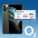 o2 Free Unlimited Max (unendlich LTE 225 Mbit/s) für 18,38€/Monat dank 180€ Bonus + Verkauf von iPhone 11 Pro zum Festpreis