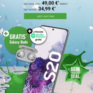 Galaxy_S20_Plus_ab_49__GRATIS_Galaxy_Buds__60GB_LTE_o2_Allnet_Titelbild