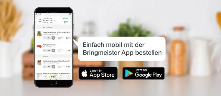 Bringmeister App