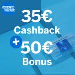 💳 Fette 85€ Bonus für kostenlose Amex Blue Card