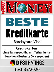 barclaycard siegel focus beste kreditkarte