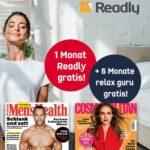 📰🔈 GRATIS: 1 Monat Readly oder Audioteka + 6 Monate Relax Guru