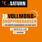 """Vollmond Shoppingrausch bei Saturn, z.B. 2x Samsung 49"""" 4K QLED-TV für 1.266,25€ (statt 1.652€)"""