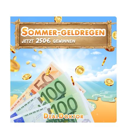 TOP: 250€ beim Sommer-Geldregen gewinnen